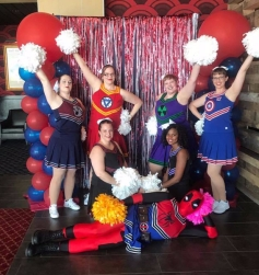Because every homecoming needs cheerleaders!